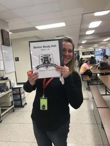 Arrowhead Says Goodbye to One Study Hall Teacher, Welcomes Another