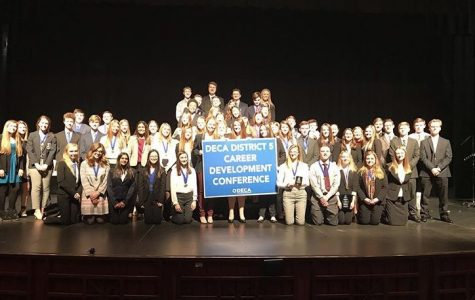 DECA Students Compete at DECA Districts and Look Forward to State Competition