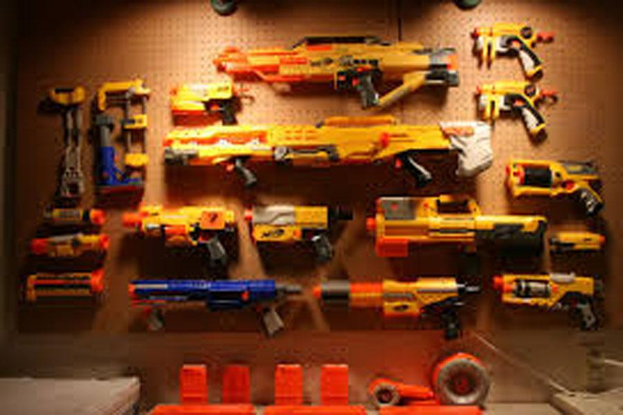 Seniors are Participating in Arrowhead High School Nerf Wars after Prom