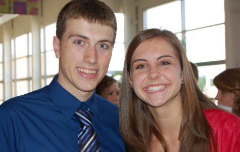 Jenkyns(left) and current Arrowhead Math teacher, Janelle Hobbs, at their 2010 Arrowhead Graduation