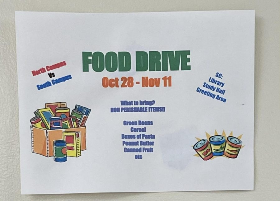 Student Senate Hosts Annual Food Drive