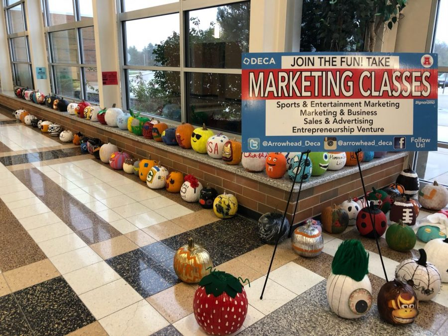 DECA Students Continue Halloween Traditions