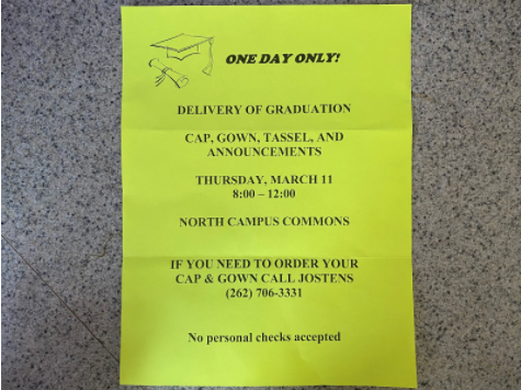 Senior Cap & Gowns Pick Up Day Approaches