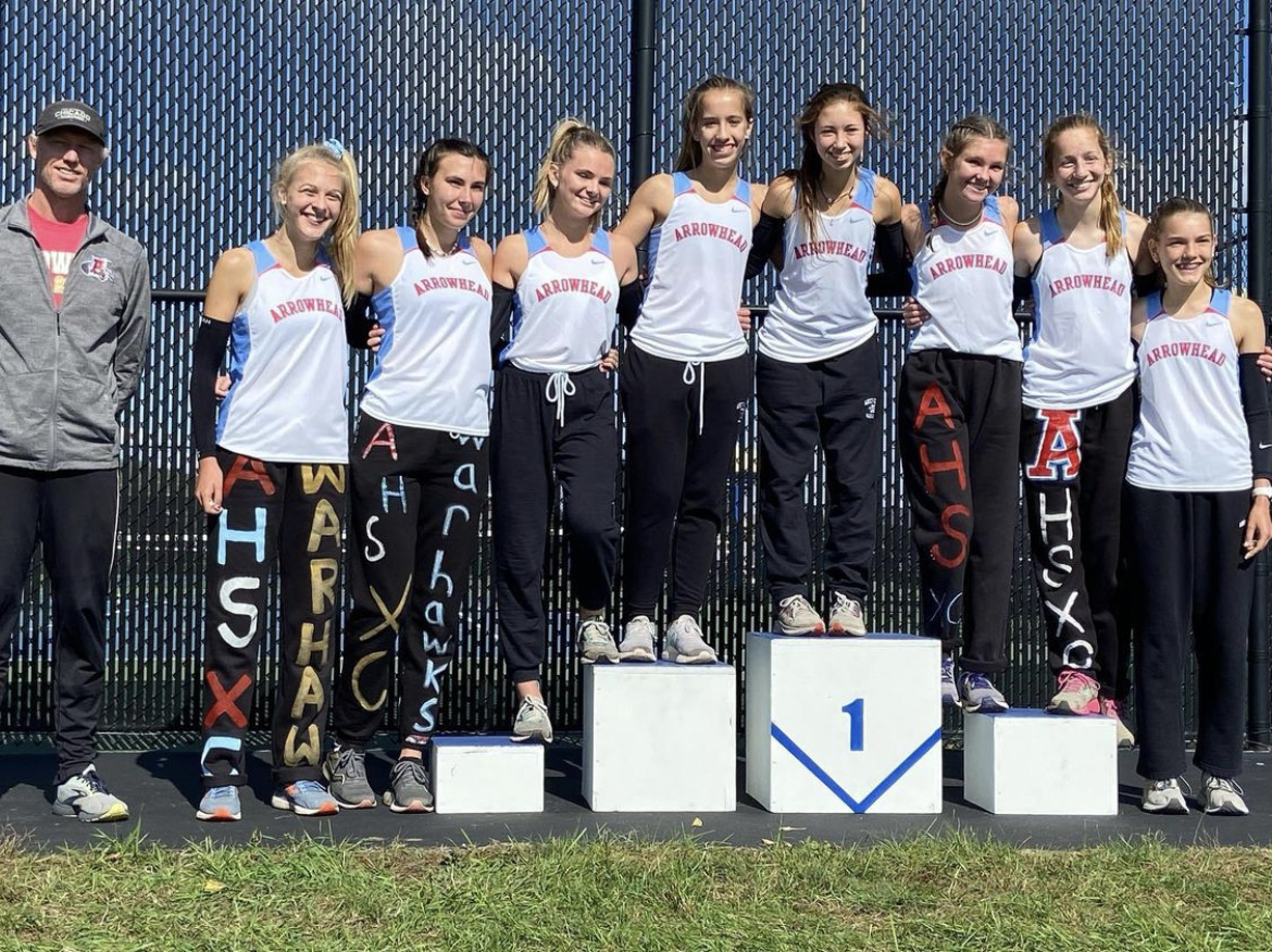 Girls Cross Country Win Conference