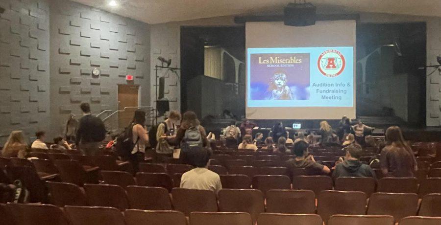 Arrowhead Drama Raises Funds for Winter Musical, Les Mis